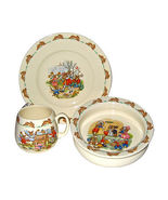 Royal Doulton Bunnykins Nursery Set, Plate Bowl &amp; Mug
