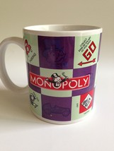 Monopoly Game Ceramic Mug Hasbro collectable - $5.94