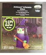 3.5 foot Indoor Outdoor Inflatable Witch with B... - $14.95