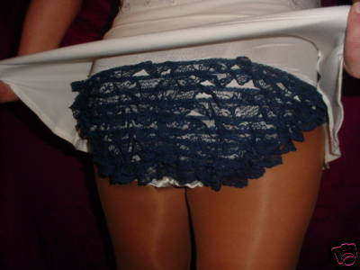 Feminine LACE Panty ADULT SISSY FRILLY RUMBA PANTIES XL