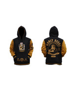ALPHA PHI ALPHA Black Gold Hoodie Jacket Alpha ... - $57.75