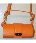 Joy Mangano Orange Long Shoulder Strap Hand Bag... - $17.81