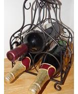 3 Bottle Wine Rack Bottle Holder Metal 15