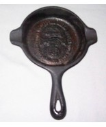WAGNER WARE CAST IRON SKILLET Ashtray SPOON RES... - $19.79