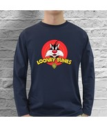 Looney Tunes Sylvester Cat Merchandise Long Sle... - $21.70