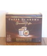 Caffe De Aroma Bananas Foster Single Serve Cup... - $8.99