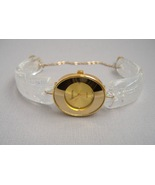 Gold Oval Face Watch Unique Handcrafted Crystal... - $275.00