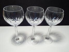 SPIEGELAU CRYSTAL WINES IN NARCISSUS PATTERN - $29.95
