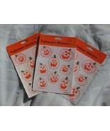 3 Packages Glitter Jack o Lanterns - Vintage 19... - $6.99