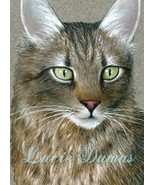 ACEO art print Cat #359 by Lucie Dumas - $4.99
