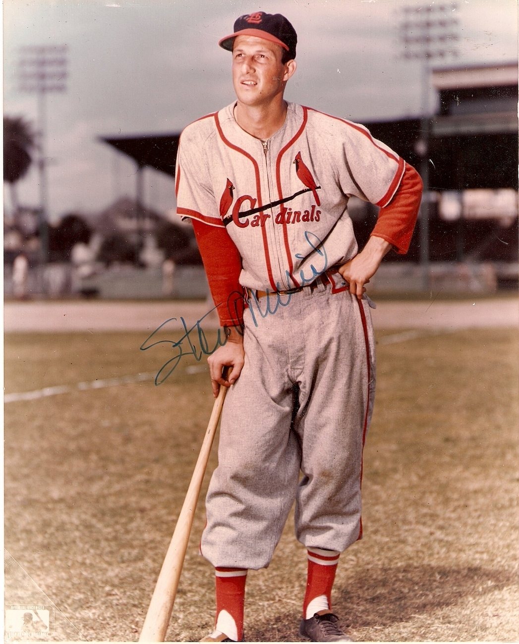 Stan Musial  8 x 10 Autographed Photo St. Louis Cardinals