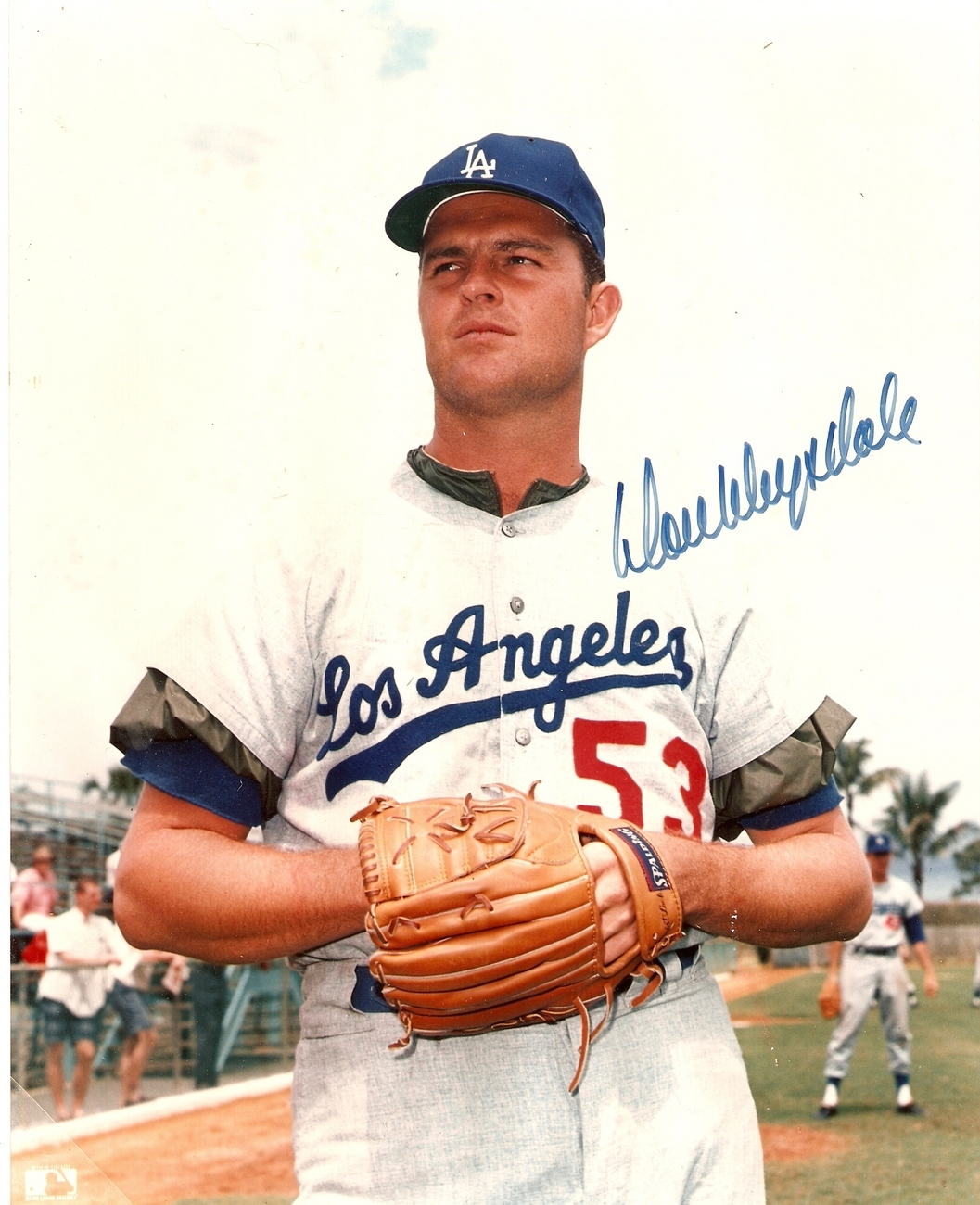Don Drysdale 8 x 10 Autographed Photo Los Angeles Dodgers