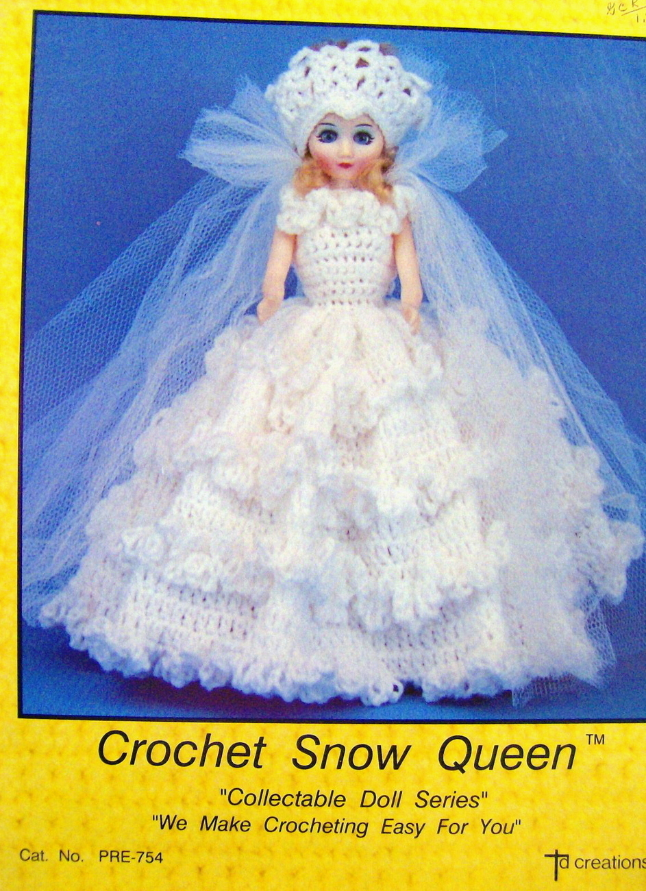 Free doll clothes pattern to crochet - Making Doll Clothes