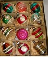 12 FABULOUS VINTAGE GLASS ORNAMENTS - Premier &... - $95.00