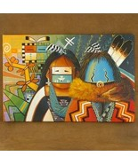 The Navajo Yei Dancer and Sacred Plant Painting... - $222.07