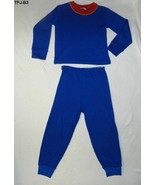 Blue Waffle Weave Size 4-5 PJs Pajamas - $5.99