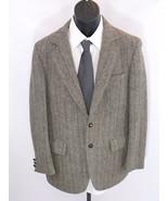 VTG Harris Tweed Wool Executaire American Craft... - $59.39