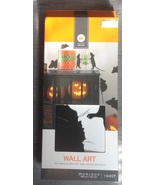 Halloween Black Mouse Rat Silhouettes Wall Art ... - $5.00