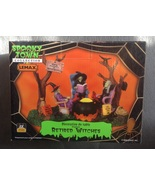 Lemax Halloween Spooky Town Retired Witches Lig... - $29.99