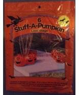 6 Stuff-a-Pumpkin Pumpkin Halloween Jack-O-Lant... - $4.59