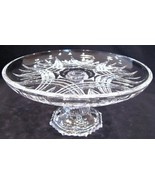 Aderia Mini Cake Stand Dessert Glass Aderia Japan - $36.00