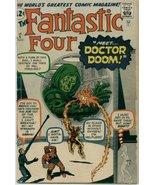 Fantastic Four (1961) # 5 GOOD Condition Marvel... - $360.00