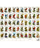 US Post 1982 50 state bird and flower Stamp Sheet and book 20 cent - $22.00