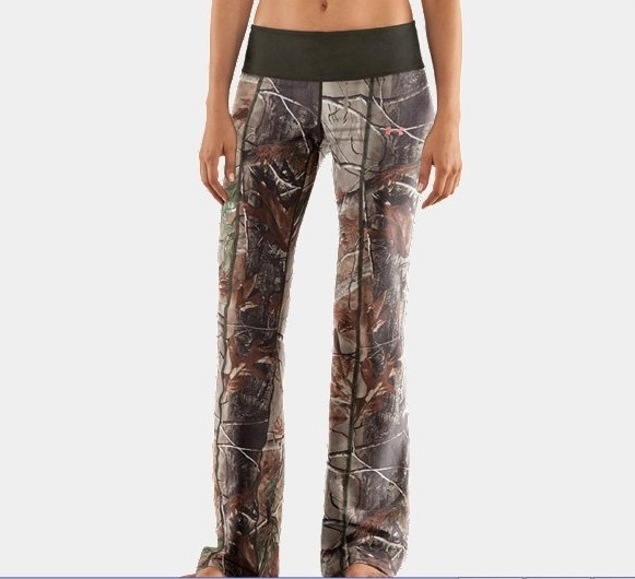 Excellent Women Lady Sports Pants Camo Running Yoga Trousers Workout Leggings