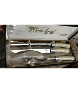 Carving & Serving Set Brand Crown Award Lucite ... - $60.00