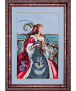 Red Lady Pirate MD113 cross stitch chart Mirabi... - $12.60