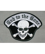 Embroidered Patch Bad To The Bone Patch - $3.22