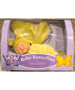 Anne Geddes Doll Baby Butterflies Bean Filled Y... - $65.00