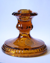 VTG Indiana Glass Co Tiara Exclusive Amber Cand... - $16.99