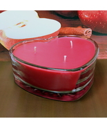 Apple Cinnamon PURE SOY  Heart Container Candle - $12.50