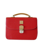 Authentic Dooney & Bourke Red AWL Carrier Shoul... - $65.00