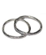 14mm Twist Sterling Silver Hinged Hoop Earrings... - $11.89
