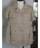 One Clothing Trench Coat Jacket Or Top Size 3X NWT - $20.00