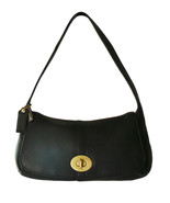 Authentic Coach Ergo Black Pebble Leather Hobo ... - $75.00