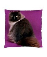 Persian Cat Two-Sided Cushion Pillow Case - $14.07