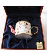 Charlotte di Vita Miniature Enamel Teapot CM211... - $99.00