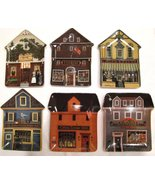 Charles Wysocki Folktown Collection Plates Hous... - $42.00