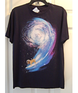 New Collision Theory Pug Astronaut Graphic Tee ... - $19.95