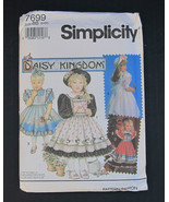 Simpilicity 1992 Daisy Kingdom #7699 Girls Dres... - $6.50