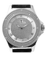 Mens Techno Trend Genuine Diamond White Gold Fi... - $39.59