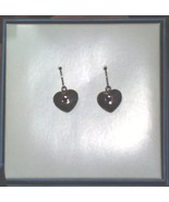 Michael Graves design Sterling Puff Hearts Earr... - $34.65