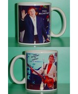 Paul McCartney 2 Photo Designer Collectible Mug - $14.95
