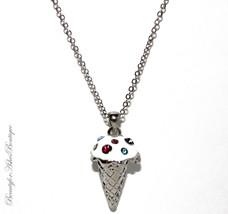Beauty for Ashes Vanilla Ice Cream Cone Silver ... - $17.95