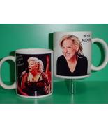 Bette Midler 2 Photo Designer Collectible Mug - $14.95