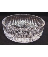 Waterford Crystal Coaster Dish Best Wishes Wine... - $52.00