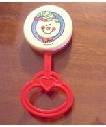 Christmas Snowman Baby Rattle PlaySkool 1989 - $3.00